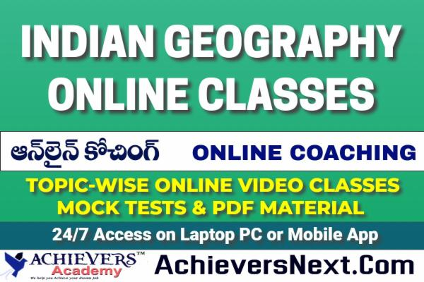 Indian Geography Online Classes cover